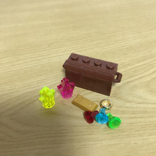 新品✨LEGO レゴ正規品 クリスタル、宝石、金魂、リング、宝箱セット✨