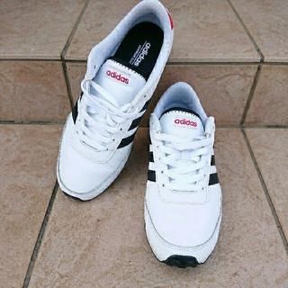 アディダス(adidas)のadidas アディダス スニーカー ホワイト 26.5(スニーカー)