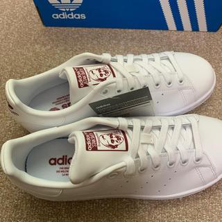 アディダス(adidas)のadidas スタンスミス 赤 レッド 楽天限定販売 23.5センチ(スニーカー)
