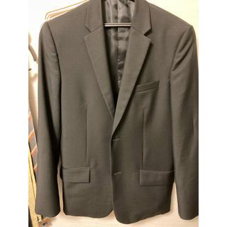 バレンシアガ(Balenciaga)の【超美品】BALENCIAGA 黒 スーツジャケット サイズ46(テーラードジャケット)