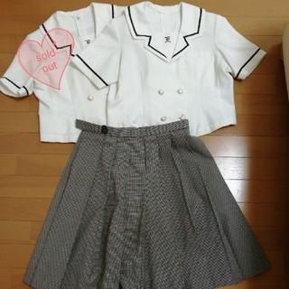 夏制服 キュロットスカート