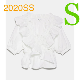 ZARA - *2020SS*ZARA フリル トップス