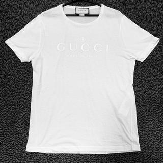 グッチ(Gucci)の【限定1点】新品 グッチ ロゴTシャツ メンズ Sサイズ(Tシャツ/カットソー(半袖/袖なし))