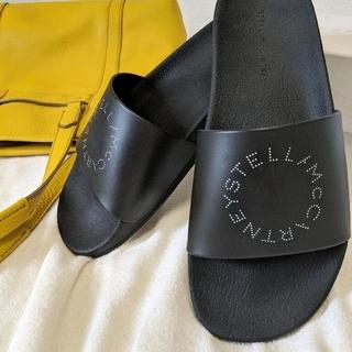 〘新品未使用〙ステラマッカートニー サンダル ブラック 27cm
