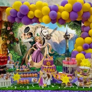 ディズニー(Disney)の【1点限定!】 即発送可能! ラプンツェル 背景布(ポスター)