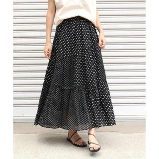 IENA - ヌキテパ ドットスカート