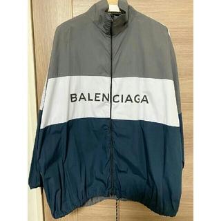Balenciaga - BALENCIAGA トラックジャケット ポプリンシャツ ロゴ