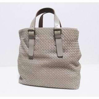 Bottega Veneta - ボッテガ 42万 イントレ トートバッグ 169612 メンズ グレー 中古 鞄