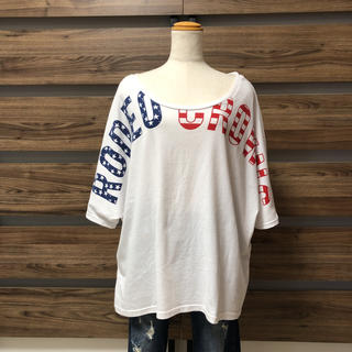 RODEO CROWNS - RODEO CROWNS ロデオ ワイドフロントビッグロゴTシャツ