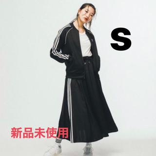 アディダス(adidas)のadidas originals ロングスカート ブラック(ロングスカート)