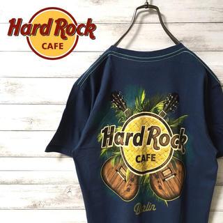 激レア 90s ハードロックカフェ Tシャツ バックプリント デカロゴ 美品(Tシャツ/カットソー(半袖/袖なし))