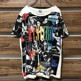 HYSTERIC GLAMOUR - HYSTERIC GLAMOUR ヒステリックグラマー総柄Tシャツ マルチカラー