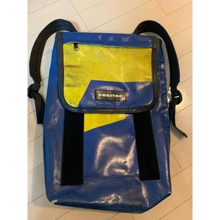 フライターグ(FREITAG)の廃盤FREITAGフライターグF32フューリーFURY青×黄リュック(バッグパック/リュック)