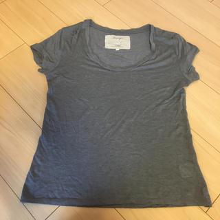 ドロシーズ(DRWCYS)のDRWCYS カシミヤ混ティシャツ(Tシャツ(半袖/袖なし))