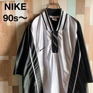 ナイキ(NIKE)の【希少パターン!!】90's 〜 NIKE ゲームシャツ トラックトップ(シャツ)