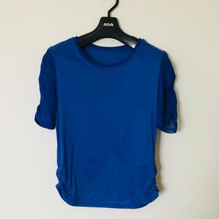 ヒロコビス(HIROKO BIS)のHIROKO BIS ヒロコビス☆Tシャツ ブルー サイズ 9号(カットソー(半袖/袖なし))