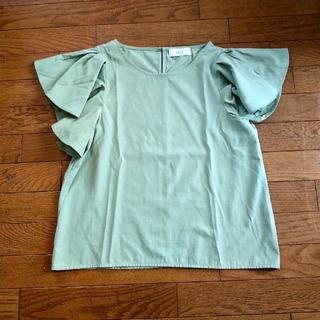 セレクト(SELECT)のselect moca  グリーントップス(シャツ/ブラウス(半袖/袖なし))