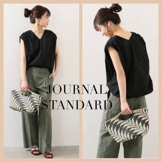 JOURNAL STANDARD - JOURNAL STANDARD タイプライターディプノールN/Sブラウス