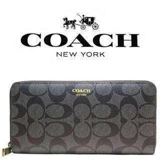 COACH - 新品◆コーチ◇高級長財布◆ブリーカーブラック◇F74597◆COACH◇