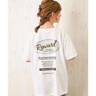 イング(INGNI)のバックサークルプリントTシャツ INGNI(Tシャツ/カットソー(半袖/袖なし))