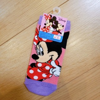 ディズニー(Disney)の新品 ミニーちゃん 靴下 お値下げ不可です。(靴下/タイツ)