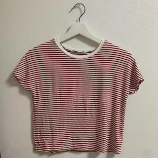 ザラ(ZARA)のボーダーTシャツ(Tシャツ/カットソー(半袖/袖なし))