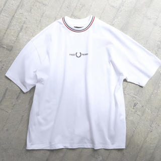 FRED PERRY - FRED PERRY × BEAMS / 別注 オーバーサイズ ピケ Tシャツ