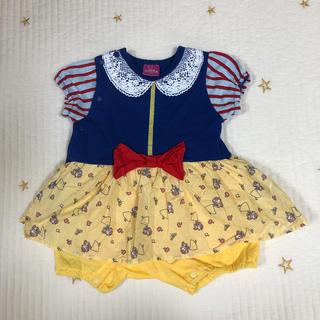 ディズニー(Disney)のDisney PRINCESS ベビー服(ロンパース)