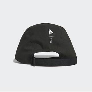 ハイク(HYKE)の【最安値】HYKE x adidas コラボキャップ ブラック(キャップ)