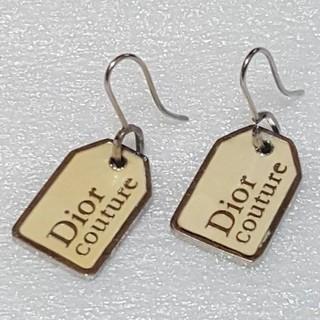 Dior - Dior   プレート  ピアス