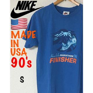 ナイキ(NIKE)のMade in USA 1998 ホノルルマラソン 銀タグ(Tシャツ/カットソー(半袖/袖なし))