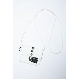 トーガ(TOGA)のTOGA × PORTER SHOULDER WALLET ホワイト(財布)