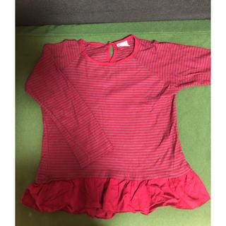 ザラキッズ(ZARA KIDS)のザラ 女の子 ロンT  128(Tシャツ/カットソー)