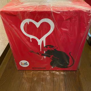 メディコムトイ(MEDICOM TOY)のMCT TOKYO 当選品 LOVE RAT (RED ver.) BANKSY(その他)