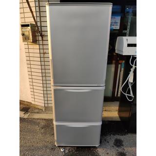 SHARP - SHARP 冷凍冷蔵庫  350L 左右ドア SJ-W351D-S