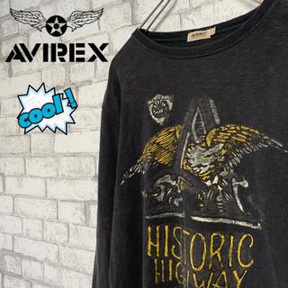 アヴィレックス(AVIREX)の【cool♪】AVIREX アヴィレックス/ロンT ユーズド加工 ミリタリー (Tシャツ/カットソー(七分/長袖))