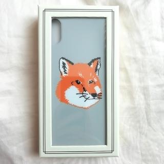 MAISON KITSUNE' - メゾンキツネ◆新作  iPhone X ケース 携帯カバー