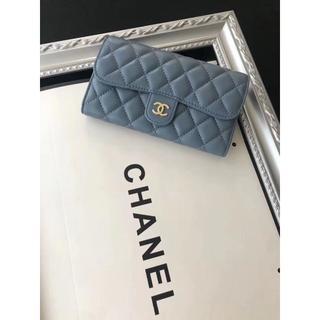 シャネル(CHANEL)の【CHANEL】 シャネル 折り畳み財布(財布)
