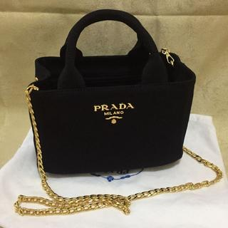 PRADA - PRADA   ミニ カナパ ショルダーバッグ