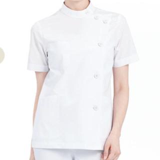 カゼン(KAZEN)のアプロン 白衣 M レディース 半袖 360-30 ケーシー 未使用(その他)