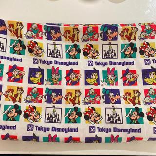Disney - ディズニー ディズニーランド ショッピングバッグ 風 コーデュロイ 生地