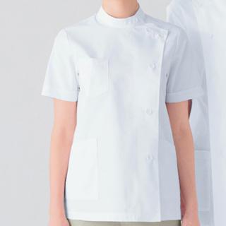 カゼン(KAZEN)のアプロン 白衣 M レディース 半袖 360-30 ケーシー 未使用 (その他)
