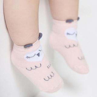 残りわずか * アニマル キッズソックス 子供靴下 韓国 梟 フクロウ