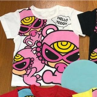 ヒステリックミニ(HYSTERIC MINI)の新品 ヒスミニ Tシャツ テディ 04(Tシャツ/カットソー)