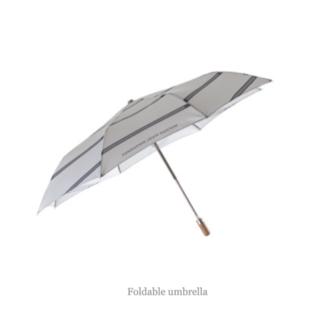 ルイヴィトン(LOUIS VUITTON)の【airioma専用】フォンダシオン ルイヴィトン 折りたたみ傘と扇子2点セット(傘)