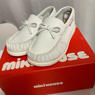 ミキハウス(mikihouse)のミキハウス miki house 靴 18cm 合皮(ローファー)