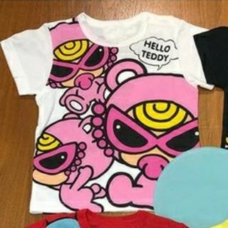ヒステリックミニ(HYSTERIC MINI)の新品 ヒスミニ Tシャツ テディ01(Tシャツ/カットソー)