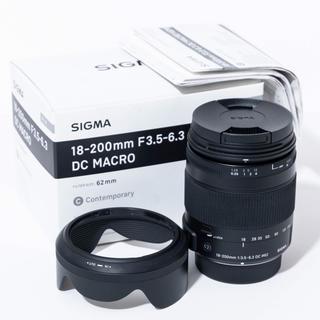 シグマ(SIGMA)のSIGMAシグマAF18-200mmF3.5-6.3 Cライン ニコンDX用(レンズ(ズーム))