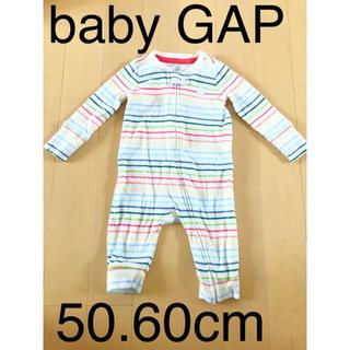 ベビーギャップ(babyGAP)のGAP baby ロンパース  60cm(ロンパース)