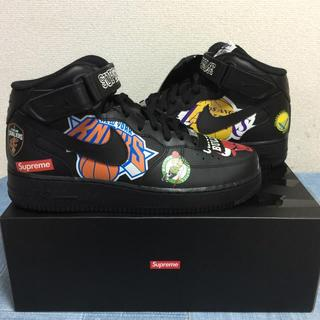 シュプリーム(Supreme)の27㎝ Supreme×NIKE×NBA AIR FORCE1 MID(スニーカー)